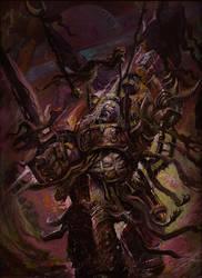 Lord Of Slaanesh, Acrylic, WIP 03 by Yogh-Art