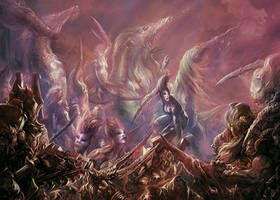 Tome of excess, slaanesh, copyright FFG by Yogh-Art