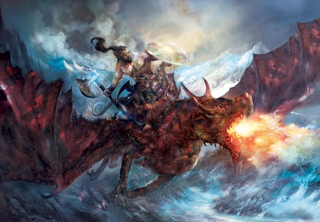 drak rider by Yogh-Art
