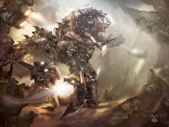 Ancient Aliens. Centaur by Yogh-Art