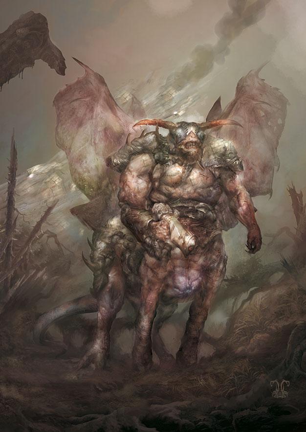 Chitine Centaur by Yogh-Art