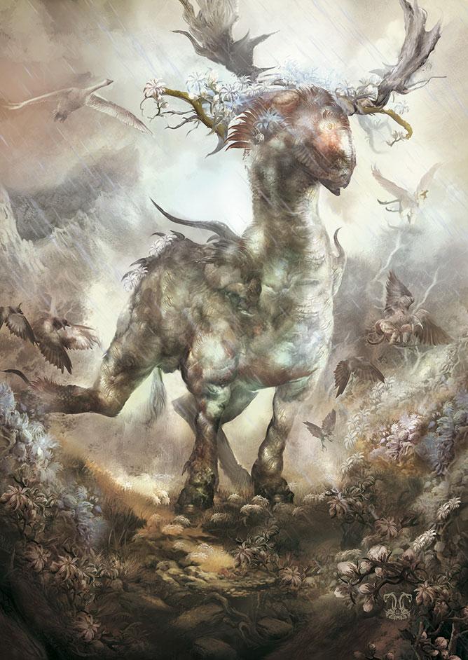 Spirit Of Forest by Yogh-Art