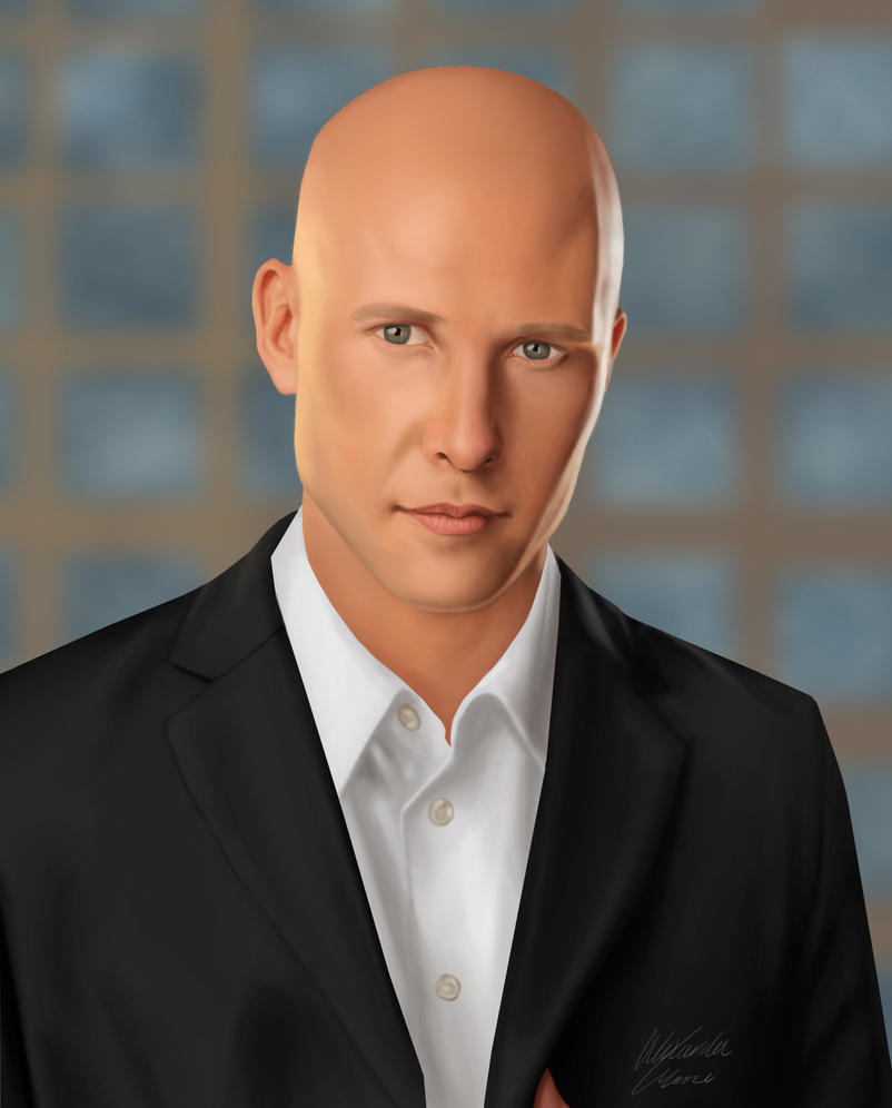 Michael Rosenbaum's Lex Luthor by Twenty2Digits