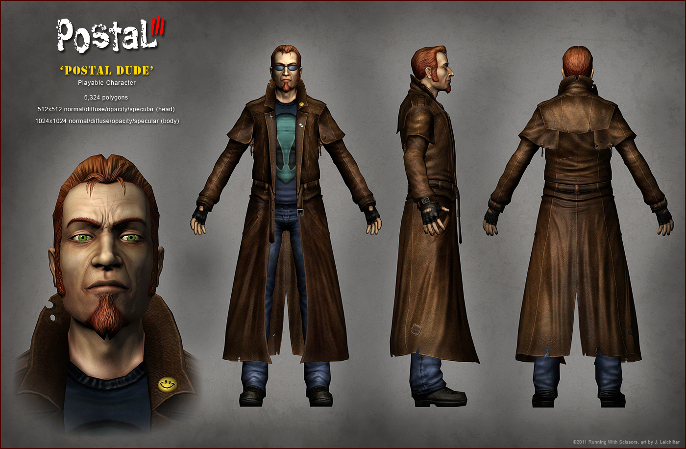 Postal 3 Postal Dude By Jleichliter On Deviantart