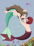 gaamatsu as mermaid