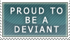 Proud to be a deviant by Frikie