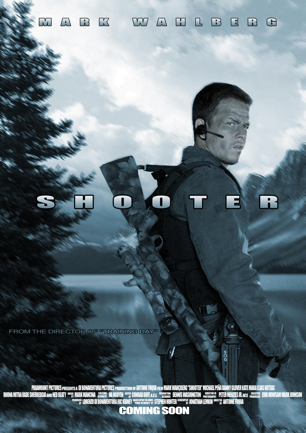 shooter poster by frikie on deviantart