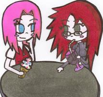 KarinSakura: First Date by ScreamingLullabies
