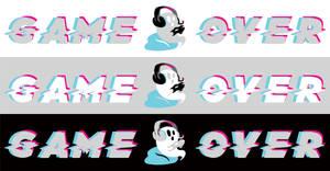 Game Over Logo by ScreamingLullabies