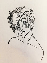 Jules Sketch by ScreamingLullabies