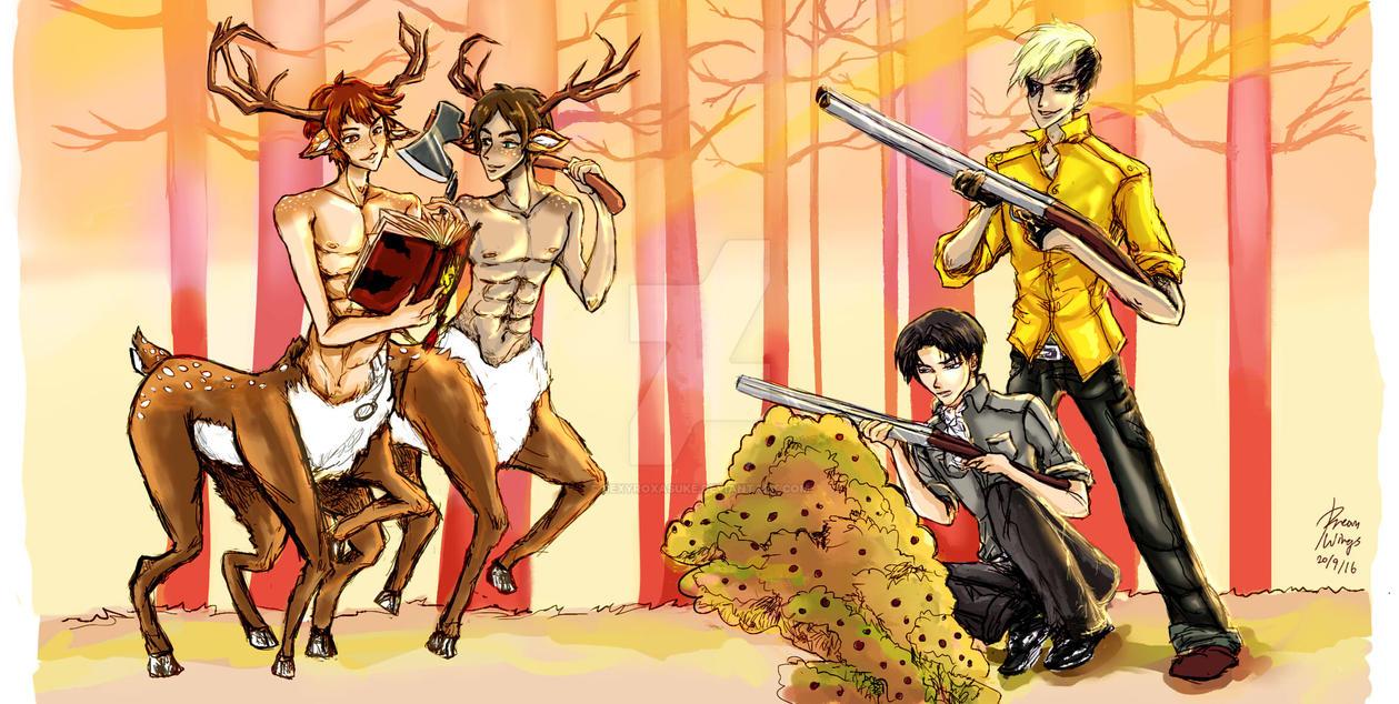 Hunter and Prey by SexyRoxasUke