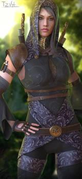 Tali'Zorah Dragon Age crossover