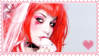 ::Emilie Autumn Stamp 2:: by Semisweetstamps