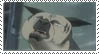 John weird face stamp by RedSlashwolf