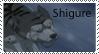 Shigure Stamp by RedSlashwolf