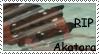 RIP Akatora stamp by RedSlashwolf