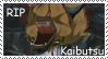 RIP Kaibutsu stamp by RedSlashwolf