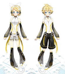 Len and Rin Append by RinXRoll