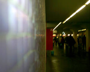 Rome Metro Mosaic View