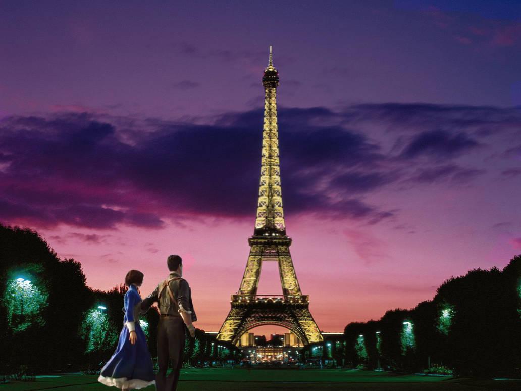 Bioshock Infinite Eiffel Tower by MarkDG