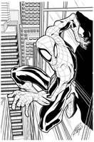 spiderman_ink by tedkeys