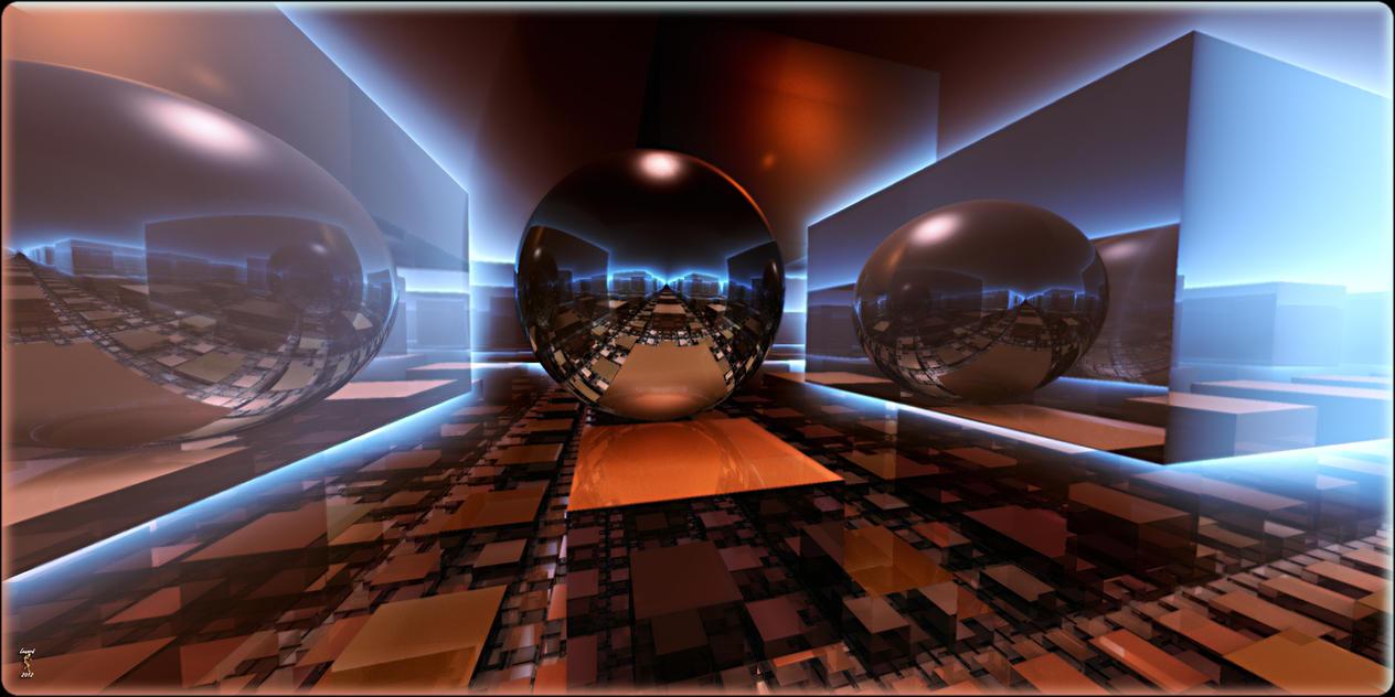 Light Cubed by Len1