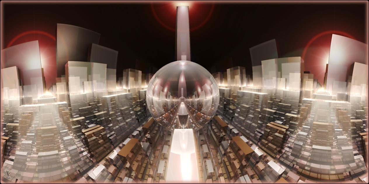 Crystal City by Len1