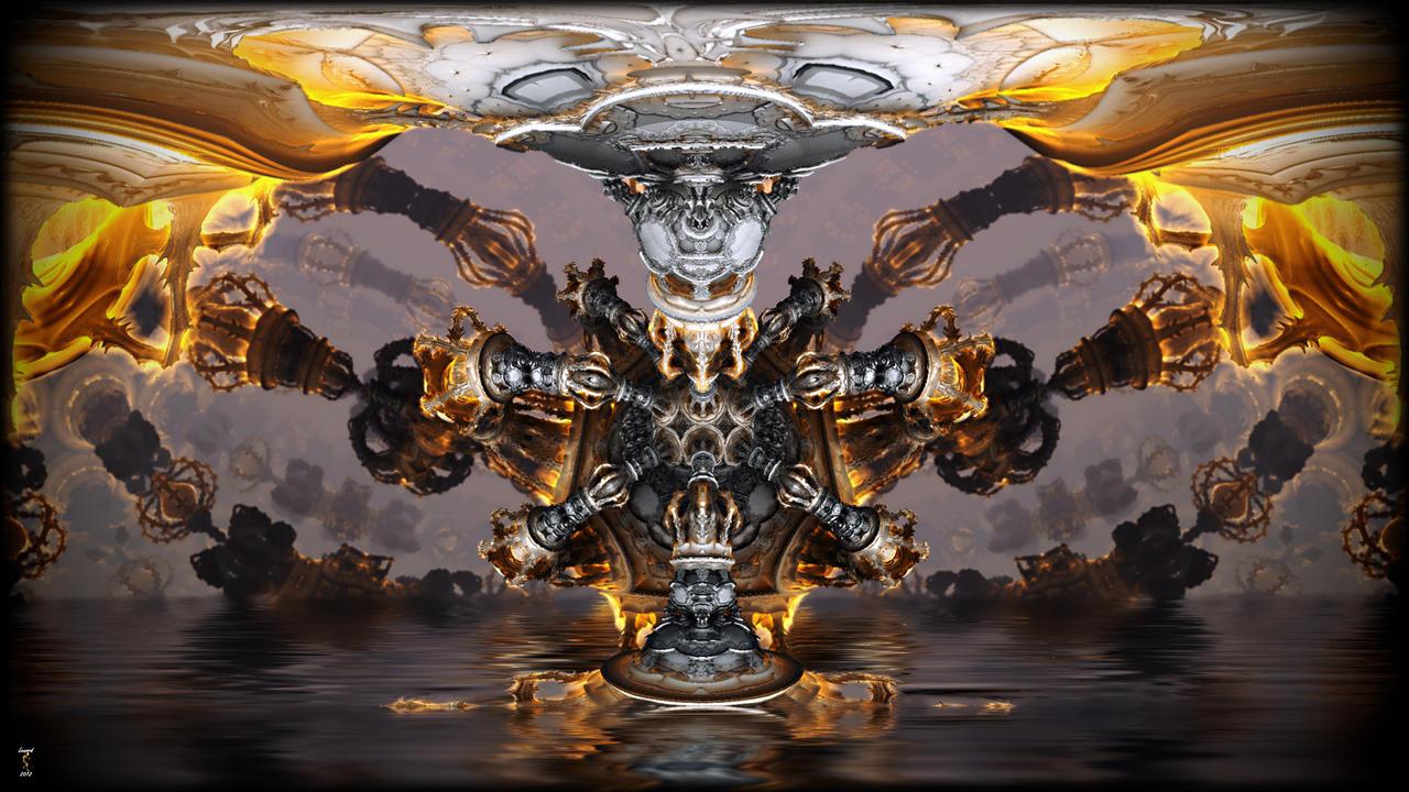Underground Fire by Len1