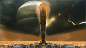 Monolith on TauCeti by Len1
