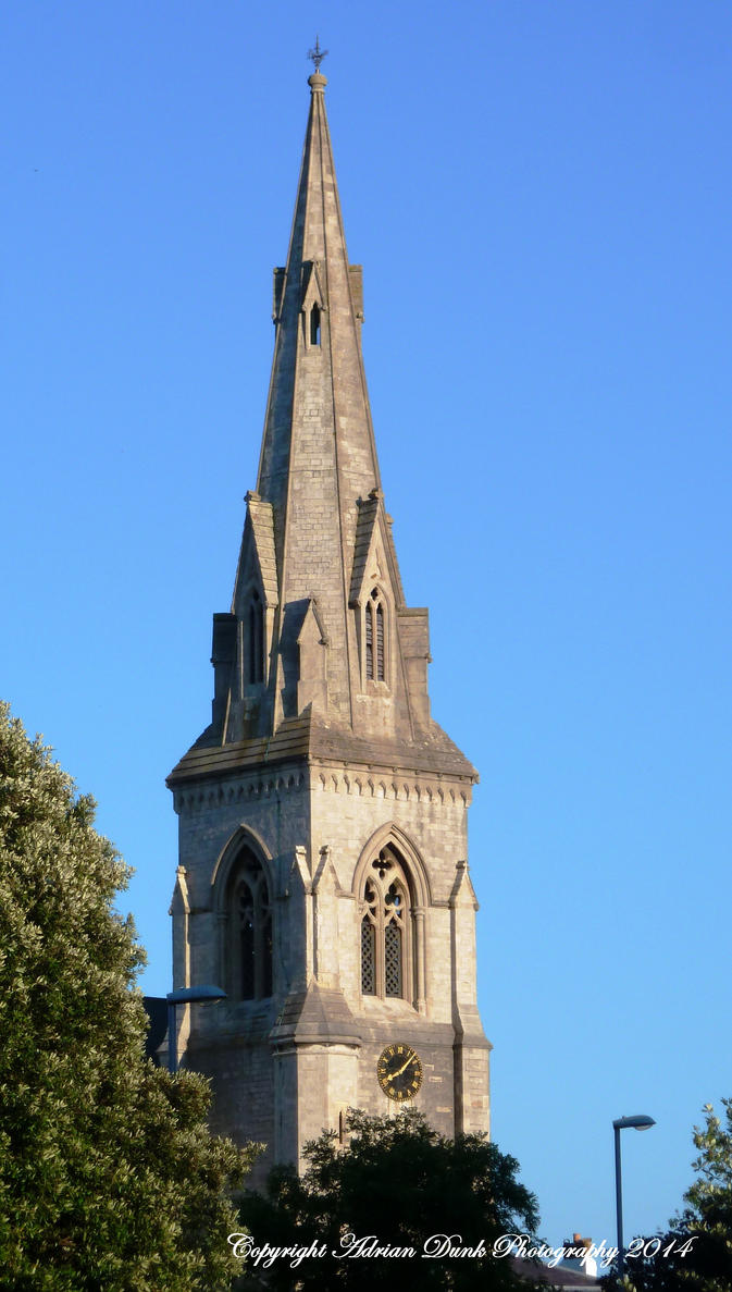 St. John's Church Spire. by AdrianDunk