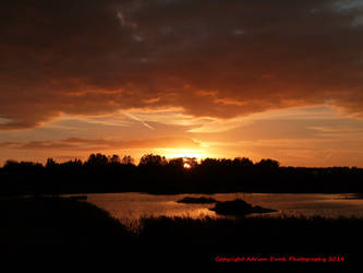 Golden time of day reprise - Sunset by AdrianDunk