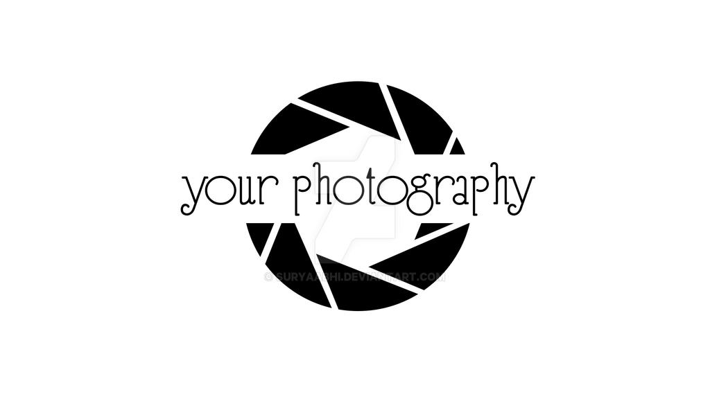 Photography logo for sale // Edit:Sold by suryaabhi on DeviantArt