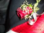 His flower for winter formal