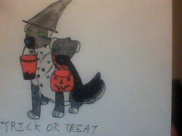 Trick or treat by Tinkerbell0522