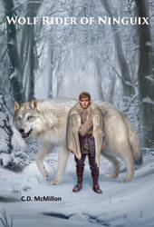 Book Cover: Wolf Rider of Ninguix