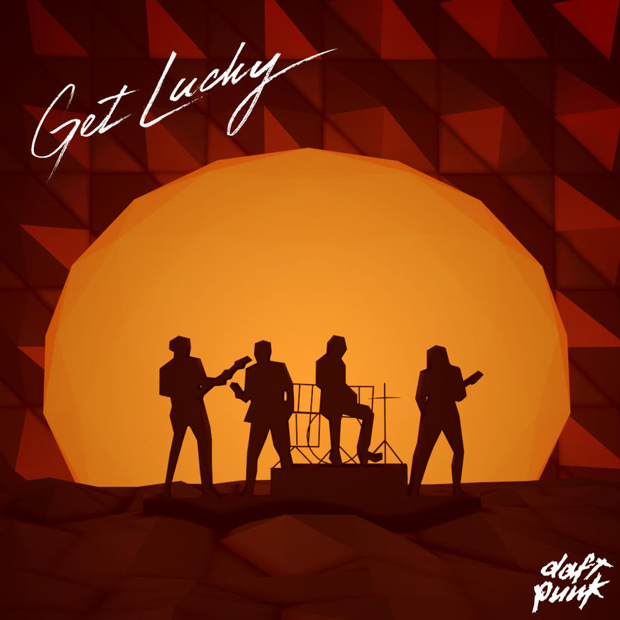 Low Poly Illustration : Daft Punk - Get Lucky by ...