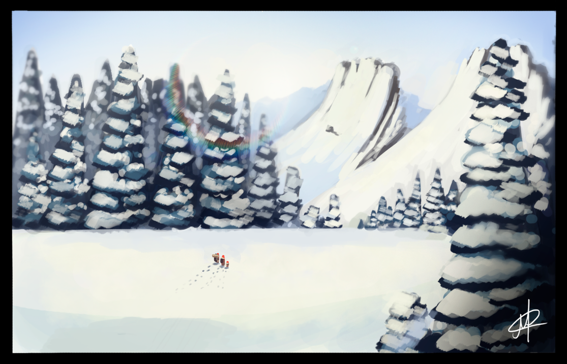The Empire of Snow by MarcoAntonioMoreira