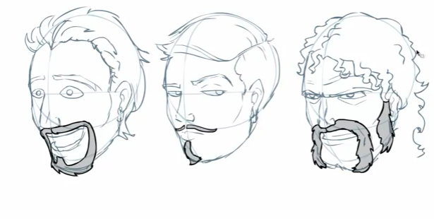 How To Draw Facial Hair by Draw-With-Jazza on DeviantArt