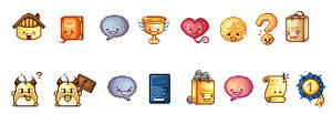 Some random icons for Roliana by TwoStar2