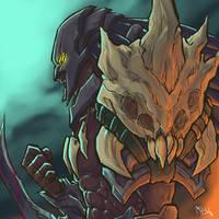 Head Hunter Rengar!!! by Mkuchima