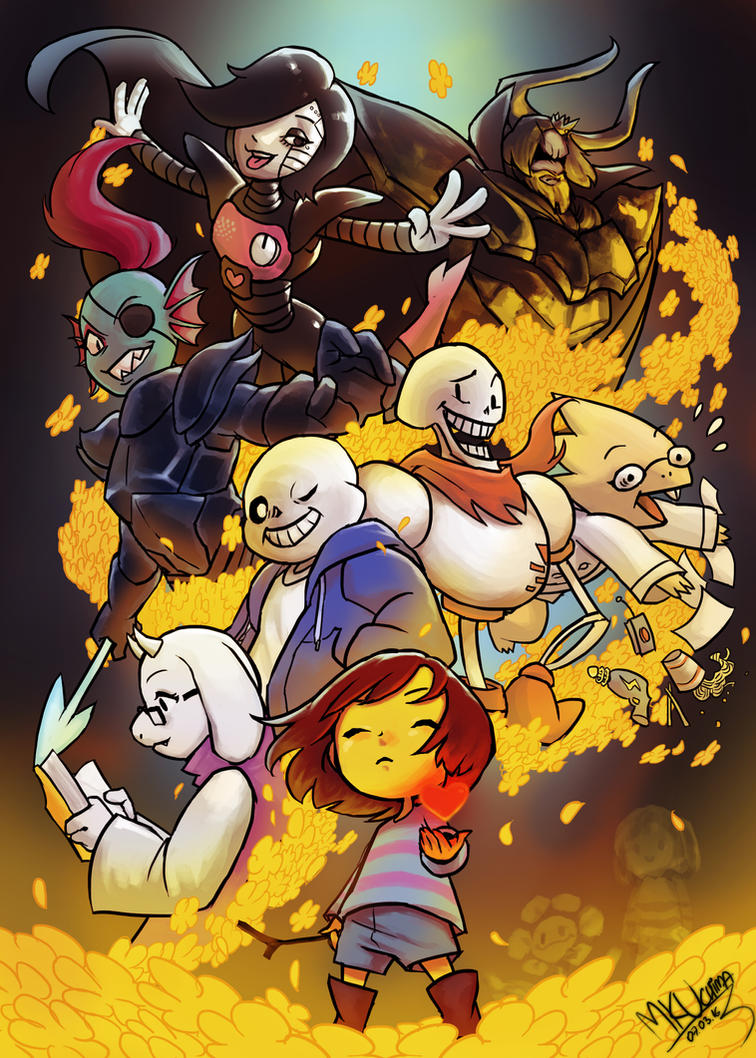 UNDERTALE !!! by Mkuchima