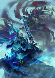 Frost Lich Jaina vs Valeera The Hollow