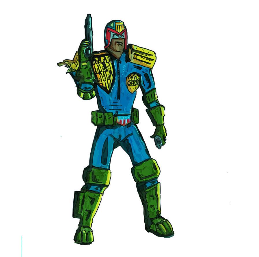 Judge Dredd by GeekyDesigns