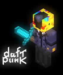 Daft Punk/Minecraft Tribute