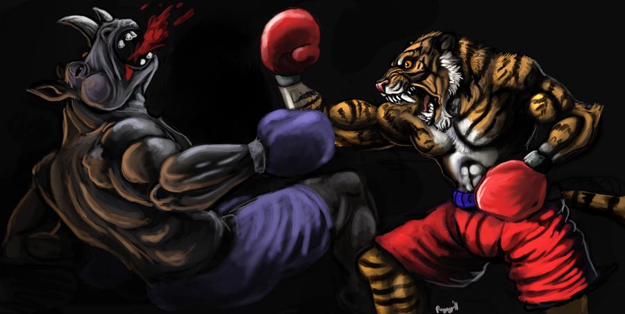 EYE OF THE TIGERRRR by Rageaholic7898