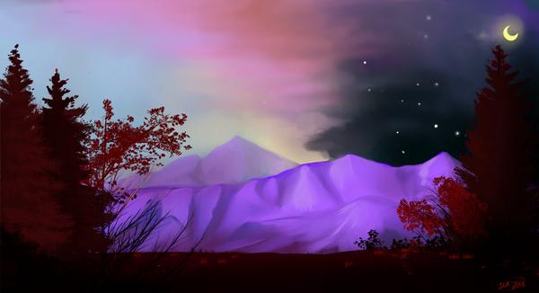 purple mountain majesty by Rageaholic7898