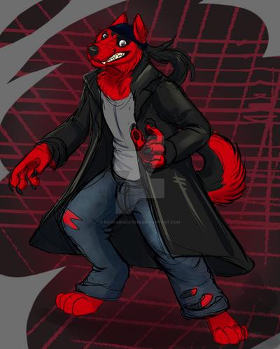 wolfie sketch by Rageaholic7898