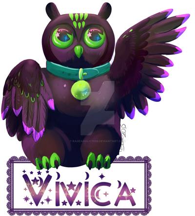 Maneki Badge: vivica by Rageaholic7898