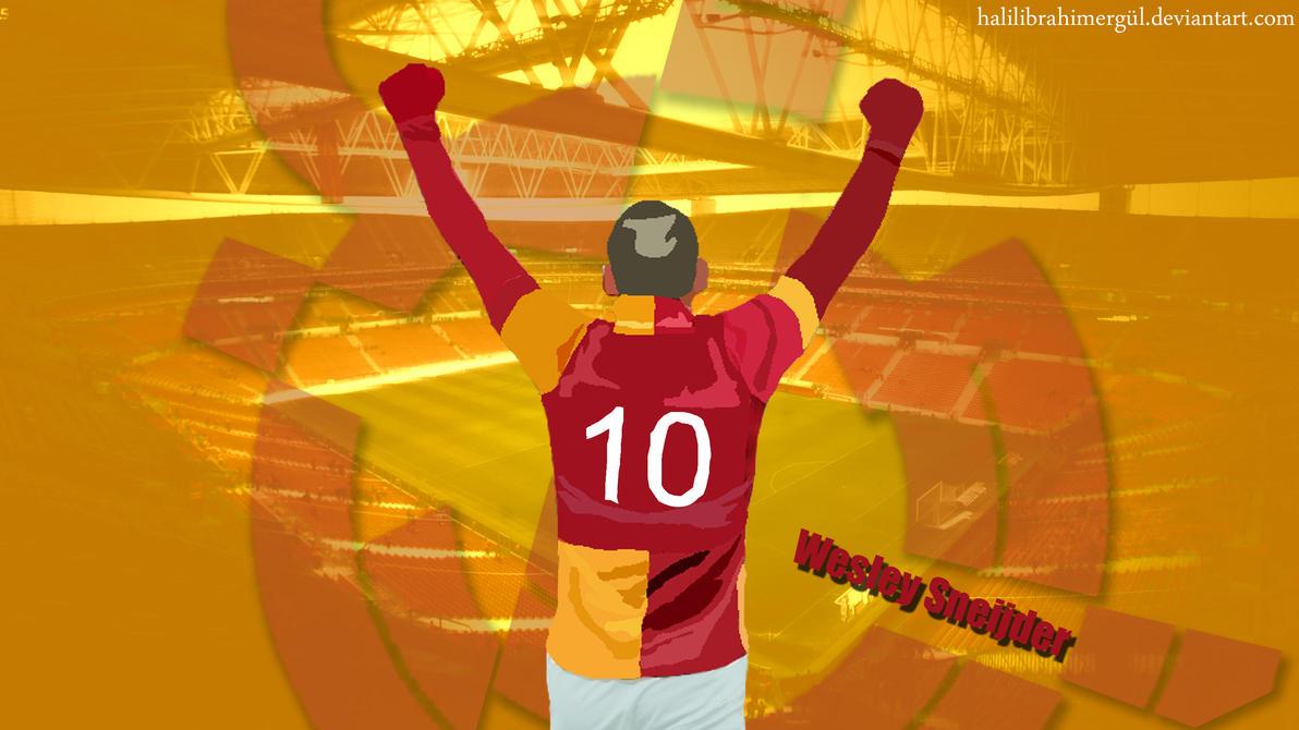 Wesley Sneijder Vector by halilibrahimergul