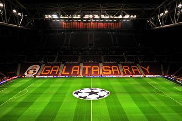 Turk Telekom Arena Wallpaper by halilibrahimergul